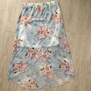Renee C Stitch Fix NWT Eileena Maxi Flowy Skirt XL
